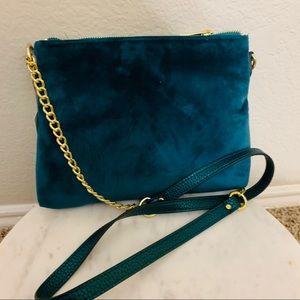 Target Small Jewel Teal Crossbody Bag